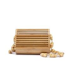 LOVEVOOK Bamboo bag high quality designer Wood fashion crossbody shoul