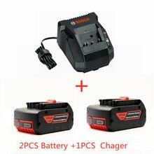 Chargeur pour perceuse électrique Bosch 18 V 10000 mAh, batterie Li-ion BAT609, BAT609G, BAT618, BAT618G, BAT614, chargeur 2607336236