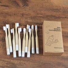 Bamboo Toothbrush Dent Brosse Eco-Friendly Zero Cute Cepillo-De-Dientes Baby Kids