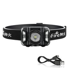 Supfire HL18 Headlamp Zoomable Rechargeable Headlamp 500 Lumens Ultra Bright Cree LED Head Flashlight Battery Indicator
