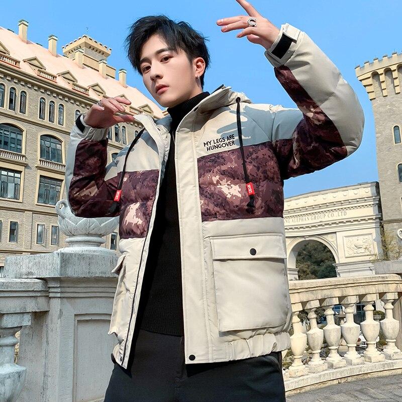 Newest Men Windbreaker Jacket Mens Streetwear Vintage Casual Multi Pockets Male Jacket Fashion Hoody Zipper Casual Men's Jackets