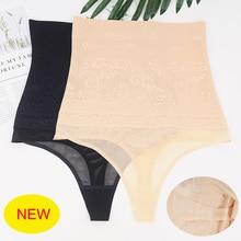 Body-Shaper Underwear Thongs Trainer Slimming High-Waist Women Panties Tummy Lace