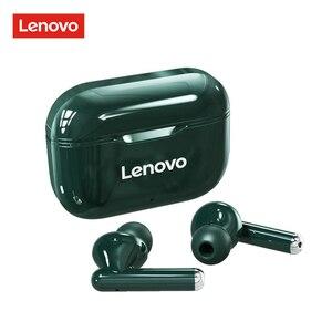 Original Lenovo LP1 TWS Earbuds Bluetooth5.0 True Wireless Headphone Touch Control Sport Headset IPX4 Sweatproof In-ear Earphone