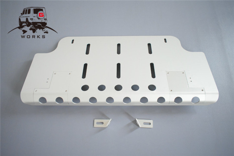 front skid plate (20)