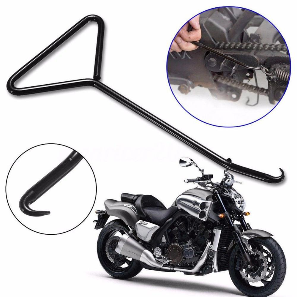 Stainless Steel T-Handle Simple Install Remove Exhaust Stand Spring Hook Puller Tools For Motorcycle Bicycle