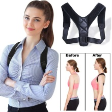 Brace Support Belt Adjustable Back Posture Corrector Clavicl
