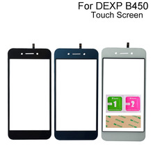 For Dexp B450 Touch Screen Digitizer Panel TouchScreen Front Glass Lens Tools 3M Glue