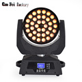 Pro Inno Color LED Zoom Wash 36X18W RGBWA+UV Moving Head Lyre Beam Professional DJ Lights For Stage