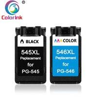 ColoInk PG 545XL 545 XL CL546 XL cartouches d'encre pour Canon PG 545 pg 545 CL 546 pour Canon IP2850 MX495 MG2950 MG2550 Imprimante|Cartouches d'encre|Ordinateur et bureautique -