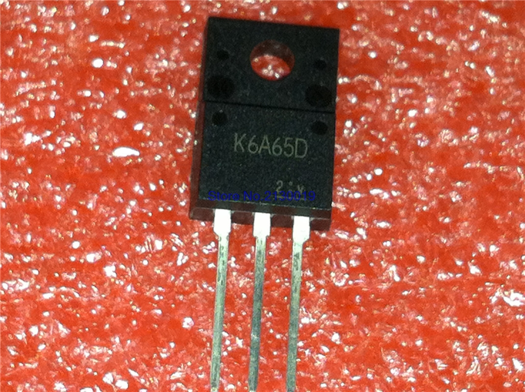 10pcs/lot TK6A65D K6A65D TO-220 In Stock