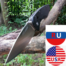 G10 Handle 8CR13MOV Pocket Knives Full CNC Precision Machining   Good for Hunting Camping Survival Outdoor and Everyday Carry