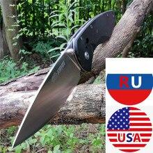 G10 uchwyt 8CR13MOV kieszonkowe noże pełna precyzyjna obróbka maszynami CNC dobre do polowania Camping Survival Outdoor i codzienne przenoszenie