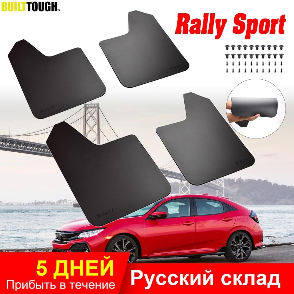 Rally Sport Universal Schlamm Klappen Schmutzfänger Splash Guards Fender Flares Vorne Hinten Für Auto Pickup SUV Van Lkw