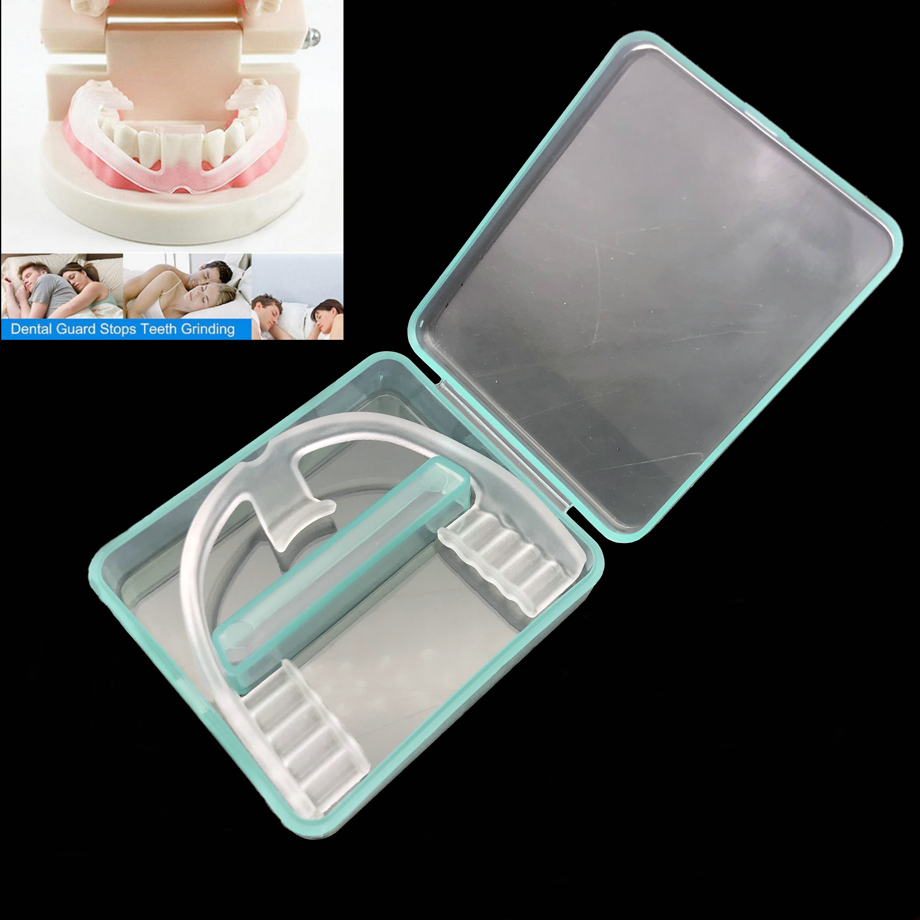 Night Mouth Guard For Teeth Clenching Grinding Dental Bite Aid Silicone