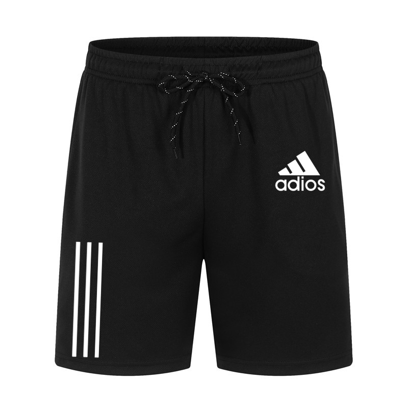 Summer Casual Shorts Men Loose Sports Shorts Loose Knit Straight Casual Pants Polyester Short Pants Oversize4xl
