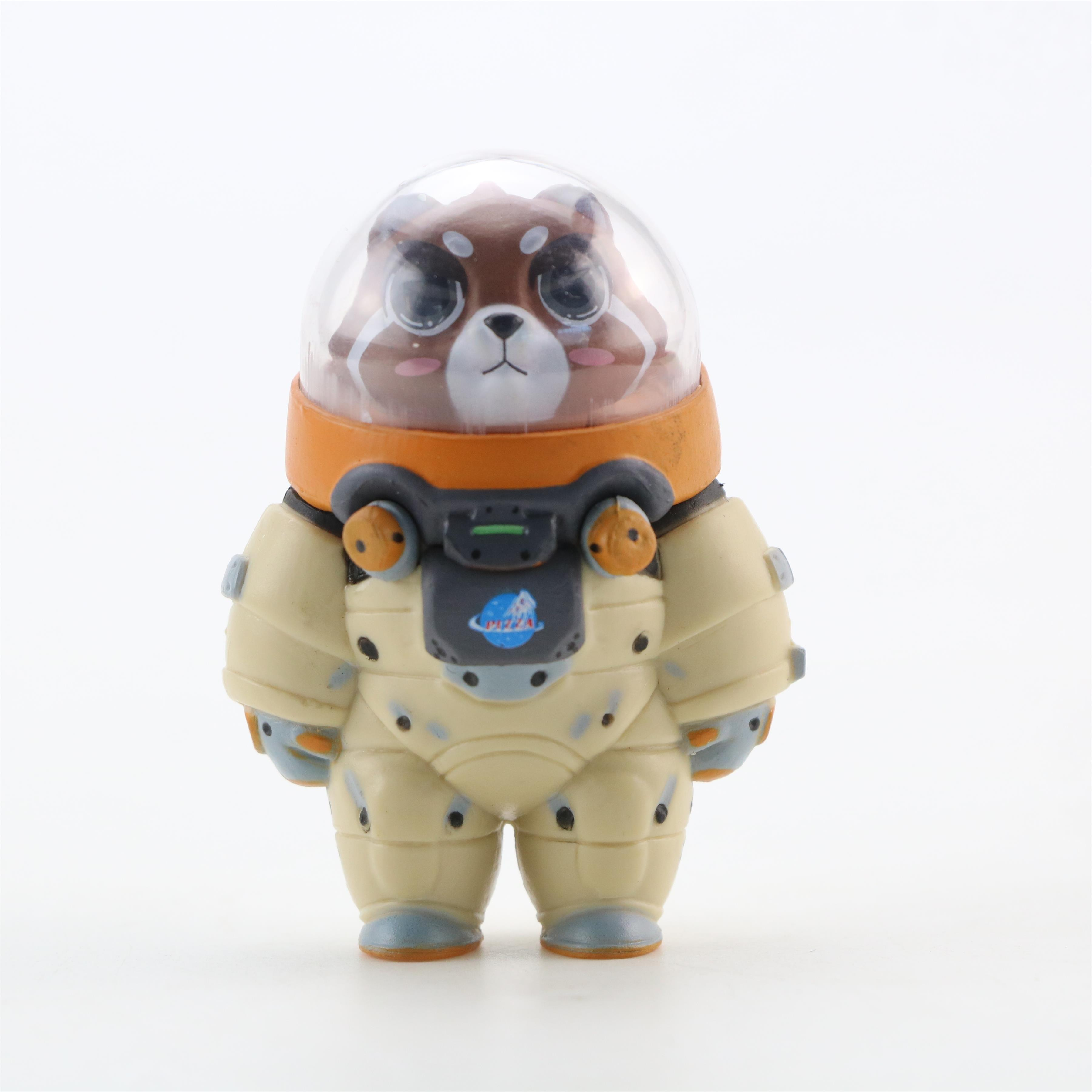 Image 5 - 10 pcs/set New Space Adventure Doll Blind Box Mini Animal Astronaut Figures Toys Set of 10 Action Figures Hand to Do OrnamentsAction & Toy Figures   -