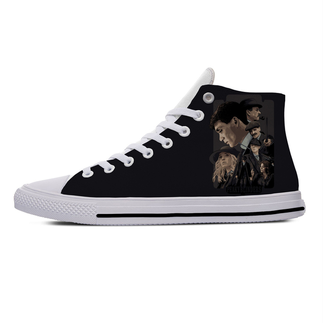 PEAKY BLINDERS THEMED HIGH TOP SHOES (7 VARIAN)