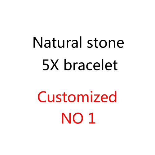 Natural stone 5X BRACELET