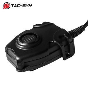 Image 2 - TAC SKY Tactical Headset U94  PELTOR PTT Button Walkie Talkie Headset Plug Adapter Airsoft Radio Military Shooting Earmuffs Use