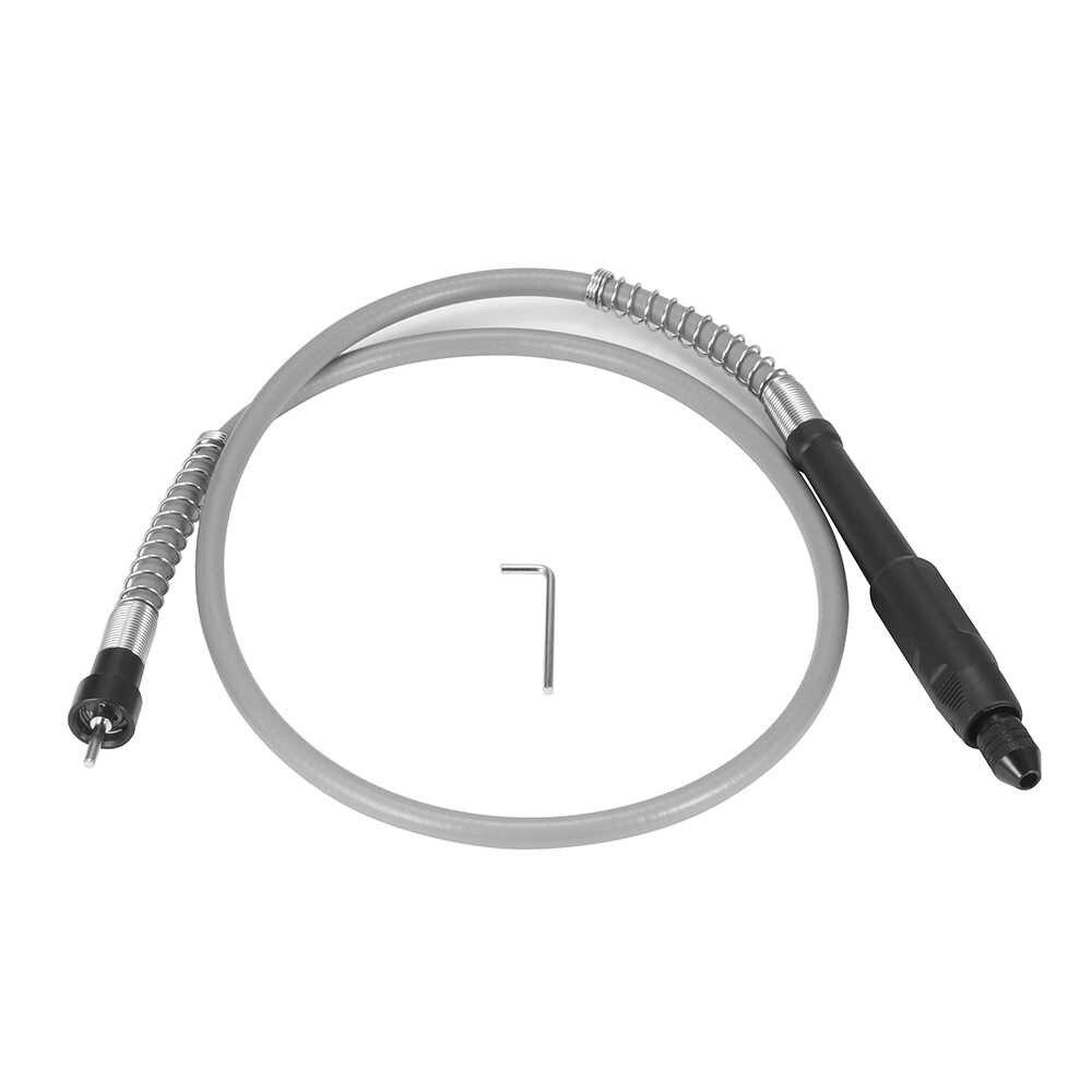 Yüksek mukavemetli esnek şaft 3-3.2mm chuck dağıtım taşlama elektrikli matkap asılı değirmen uzun hortum esnek şaft güç aracı