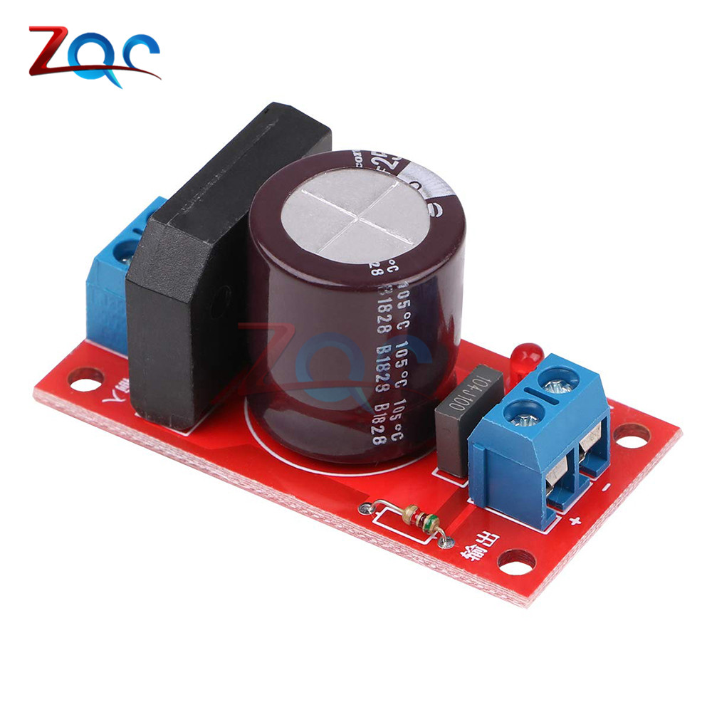 Rectifier Filter Power Board 3A 8A Rectifier With Red LED Indicator AC Single Power To DC Single Source Board