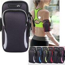 Водонепроницаемый спортивный чехол на руку для телефона IPhone Pro Max, для Samsung Huawei 6,5 дюйма 7,2 дюйма, Универсальный спортивный чехол для телефона,...