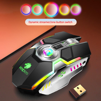 1600 DPI Silent Ergonomic USB Gaming Mouse Computer Game Mouse Gamer Mice Fast Mouse Optical Backlight RGB Mause 7 Button Laptop