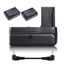 Jintu vertical battery grip + 2 pces LP-E10 kit para canon eos 1100d 1200d 1300d/rebel t3 t5 t6/kiss x50/70 slr câmera com meia-imprensa
