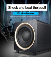 KYYSLB 80 150W 4 8ohm SA 900 Passive 10 inch Audio Subwoofer Home Home Theater Subwoofer Wooden Speaker Subwoofer