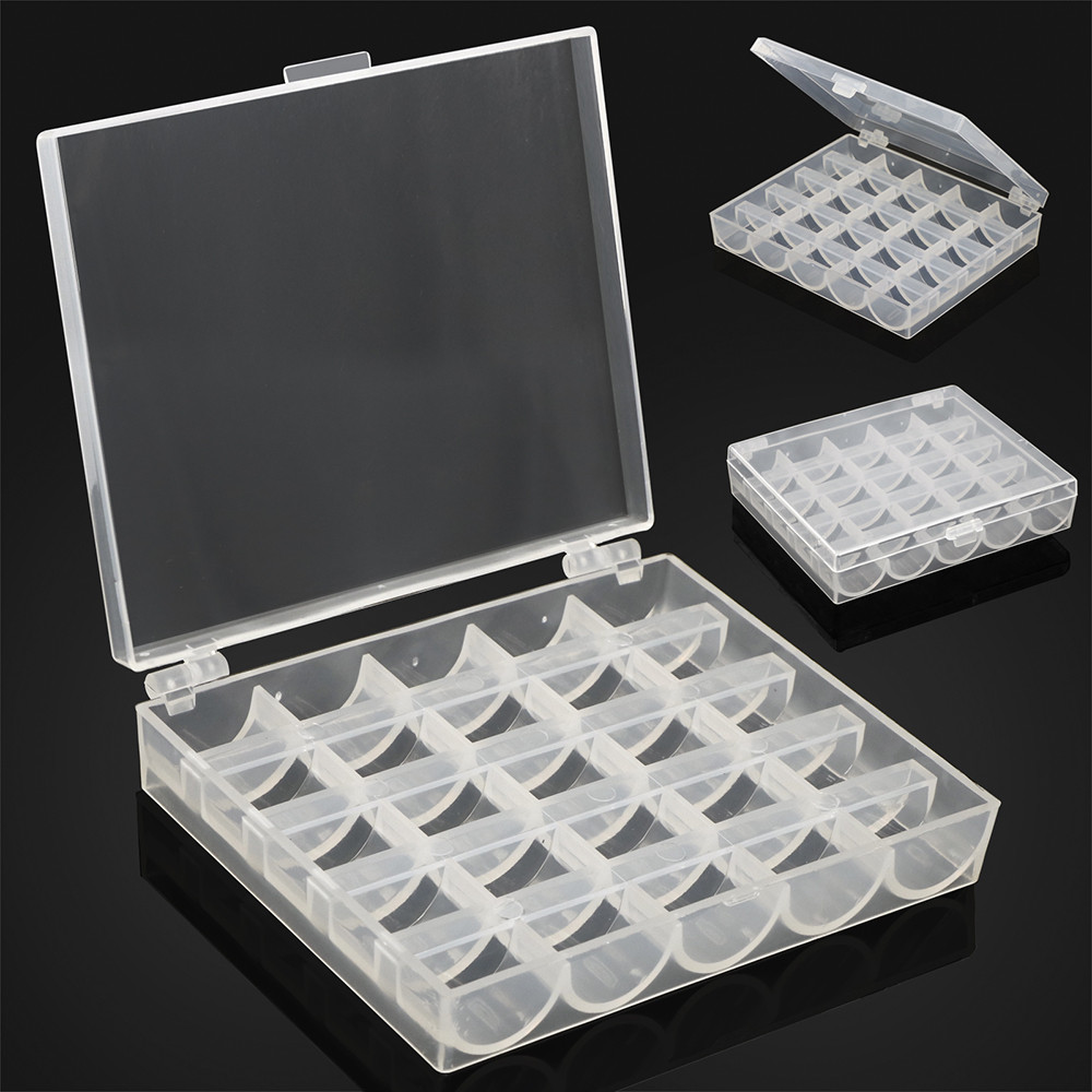 25-thread Sewing Bobbin Storage Box Sewing Bobbin Storage Box