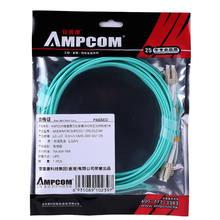 Fiber Patch Cable, AMPCOM 10G Gigabit Fiber Optic Cables with LC to LC Multimode OM3 Duplex 50/125  LSZH