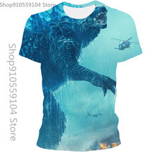 Summer Male And Female Animal 3D Printed T-Shirt Casual Fashion Trend Men's Asian Size 110/6XL