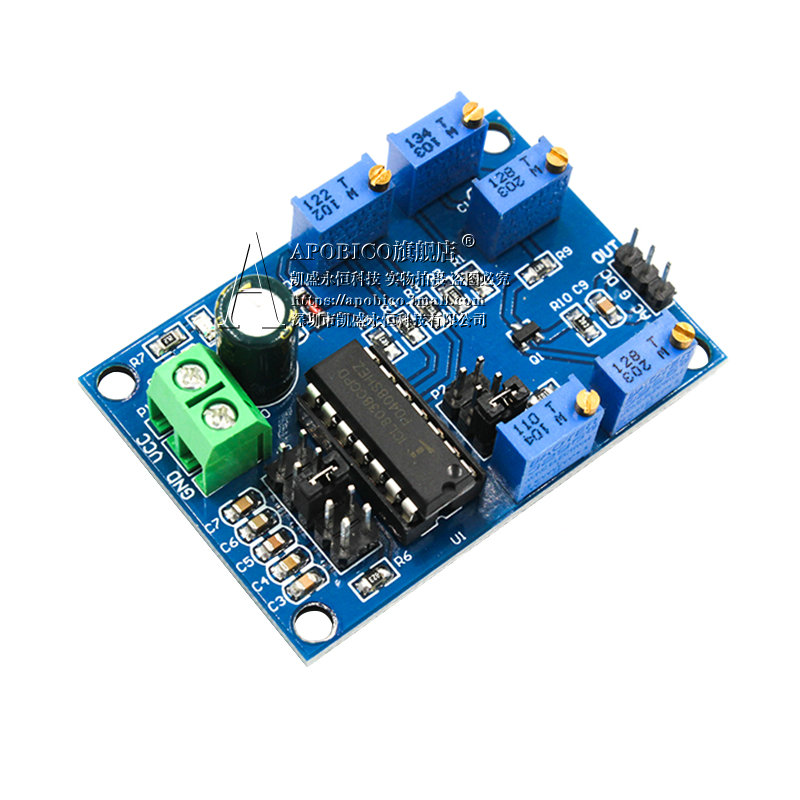 ICL8038 Medium And Low Frequency Signal Source Waveform Signal Generator Sine Wave Triangular Wave Square Wave Module