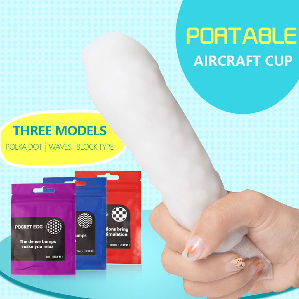 Portable Realistic Masturbator Artificial Vagina Deep Throat Oral Cup Sucking Sex Toys For Men L0918