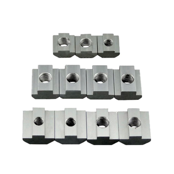 T Block Square nuts T-Track Sliding Hammer Nut M3 M4 M5 M6 for Fastener Aluminum Profile 2020 3030 4040 peng fa 35 steel t nut sleeve steel t type sliding nut milling working table fixing t bolts t slot nuts set t slots nut for t tr
