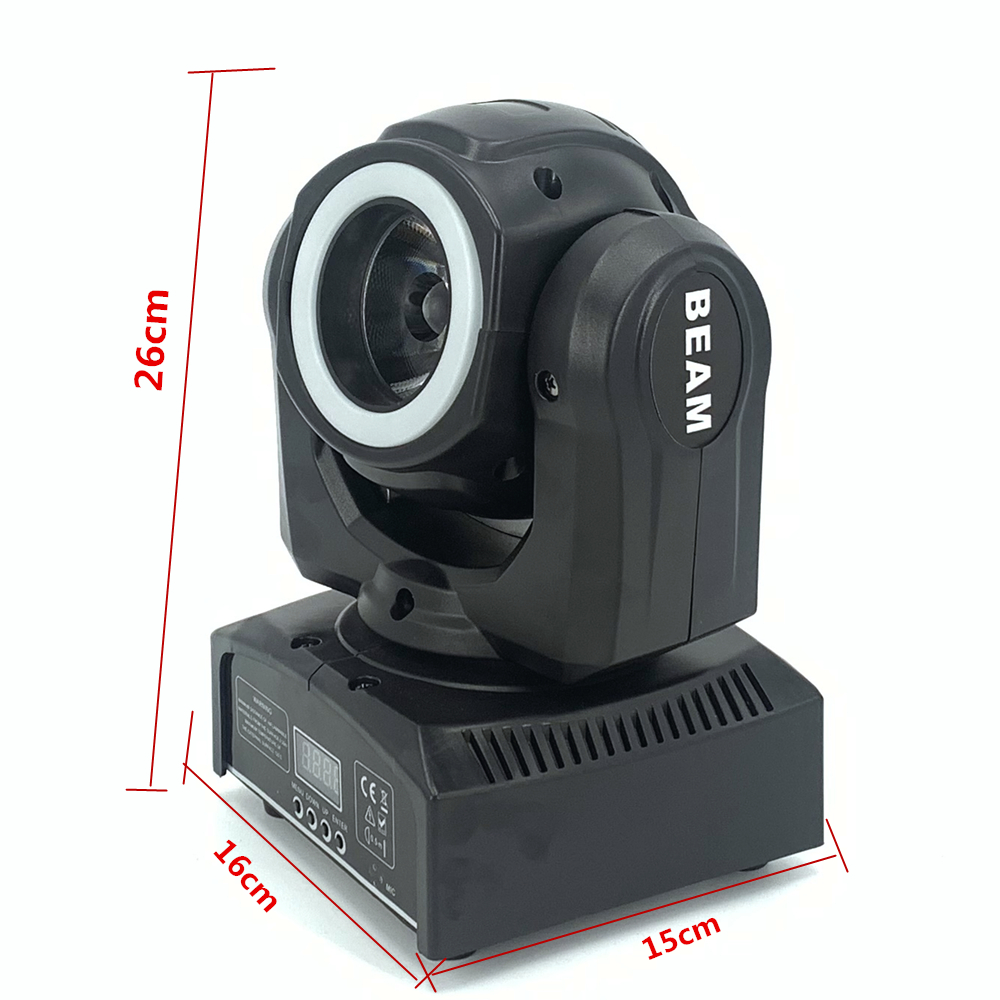 Dj Beam Mini Moving Head 65W Met 12LED SMD5050 Rgb Led Licht Super Heldere 60W Led Dj Spot licht Dmx - 2