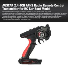 AUSTAR 2.4 4CH Radio Remote Control RC Transmitter for RC Car Off-road Vehicle Boat RC Truck Model Spare Parts Wide application high quality black white frsky accst taranis q x7 transmitter spare part protective remote control cover shell for rc models