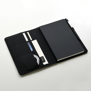 Image 5 - Smart Home Kaco Noble Paper NoteBook PU Leather Card Slot Wallet Book for Office Travel with a Gift