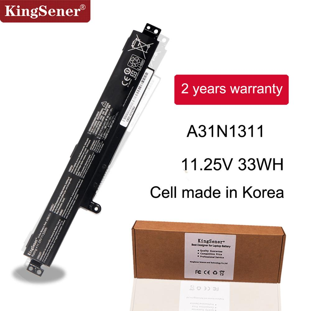 KingSener New A31N1311 Battery For ASUS VivoBook F102BA X102B X102BA-BH41T X102BA-DF1200 X102BA-HA41002F A31N1311 11.25V 33WH