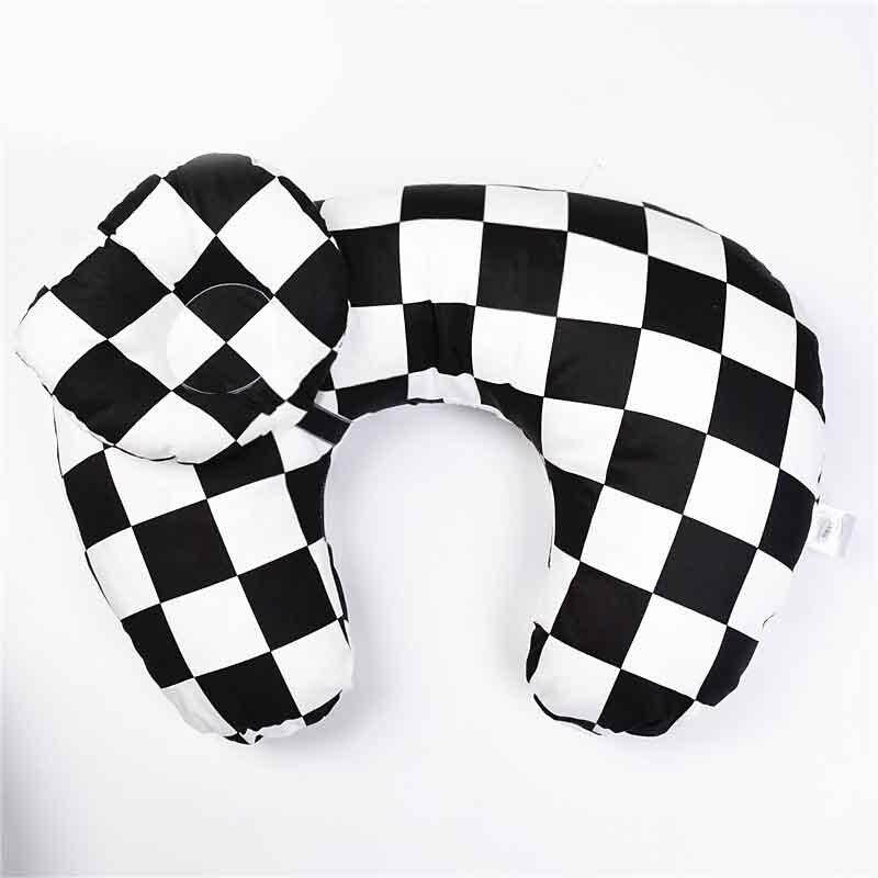 Подушка для грудного вскармливания для новорожденных; подушка для грудного вскармливания; u-образная подушка для грудного вскармливания; хлопковая Подушка для кормления - Цвет: g