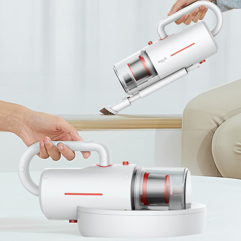 XIAOMI DEERMA CM1910 Cordless Anti Dust Mites UV Vacuum Cleaner for Household Use with USB Charger 1