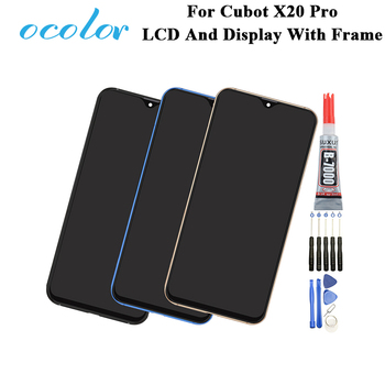 For Cubot X20 Pro LCD And Display With Frame Digitizer Assembly Replacement +Tools +Glue 6.3'' For Cubot X20 Pro