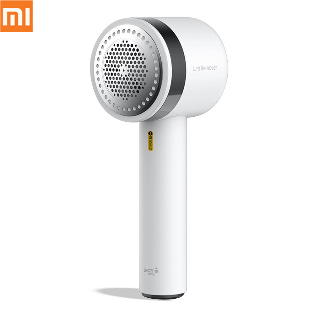New Xiaomi Deerma Portable Electric Lint Remover Hair Ball Trimmer Sweater Remover Motor Trimmer Concealed Sticky Hair Tube