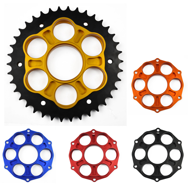 Motorcycle Rear <font><b>Sprocket</b></font> Gear With Carrier <font><b>38T</b></font> for Ducati 748 1995-2003 748S 2002 2003 image