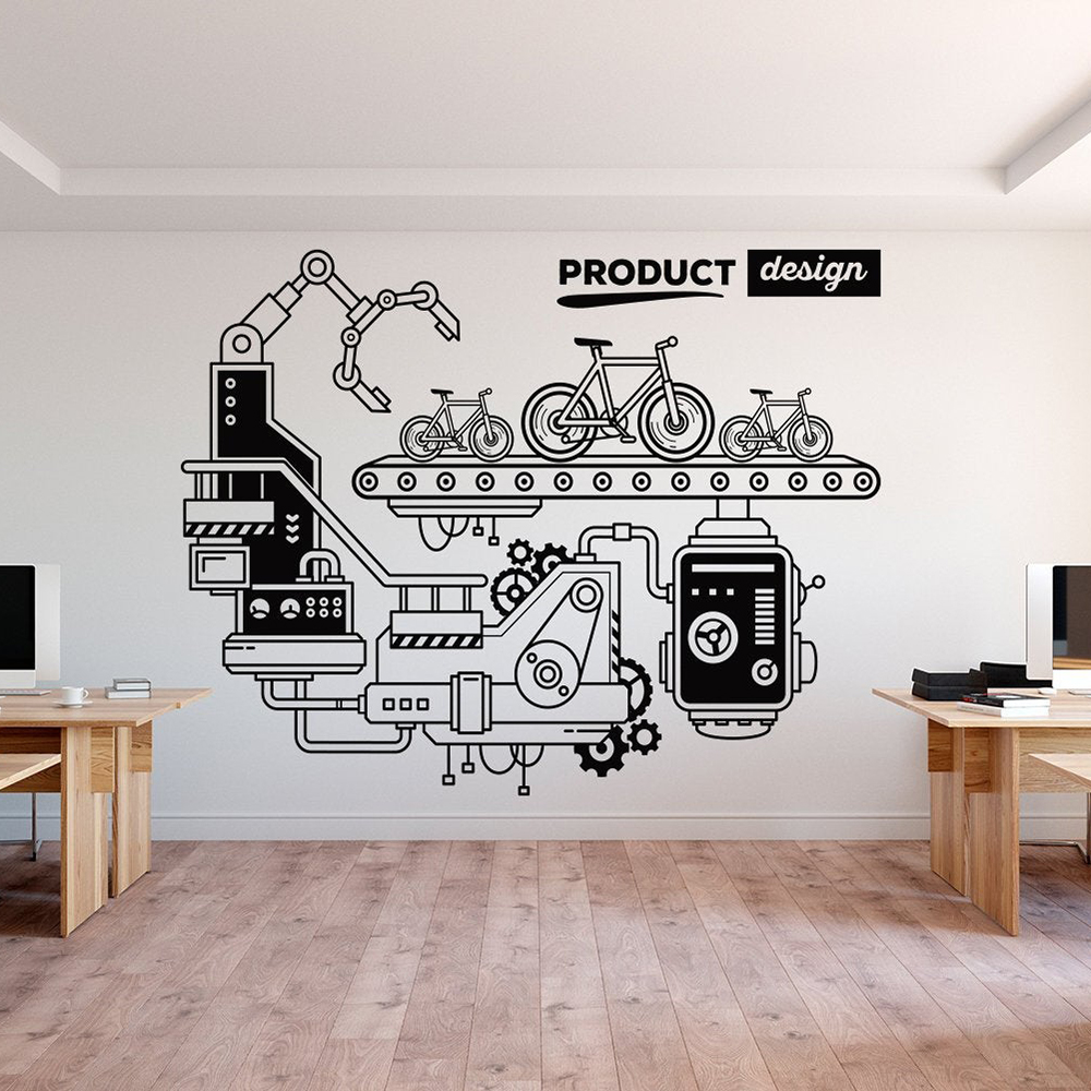 Removeable Office Decor Art Wall Decal