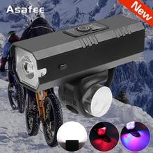 Bicycle Light Biake Light Rainproof USB Rechargeable T6 LED 1200mAh MTB Front Lamp Headlight Ultralight Flashlight Bicycle Light