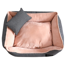 Fully removable and washable universal kennel winter warm comfortable nest dog bed pet cat  dogs baskets cushion