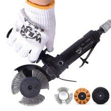 Инструмент для удаления ржавчины, для автомобильной живописи, универсальный инструмент для удаления ржавчины, пневматическая наклейка, резиновый ластик, нержавеющая проволочная щетка для колеса