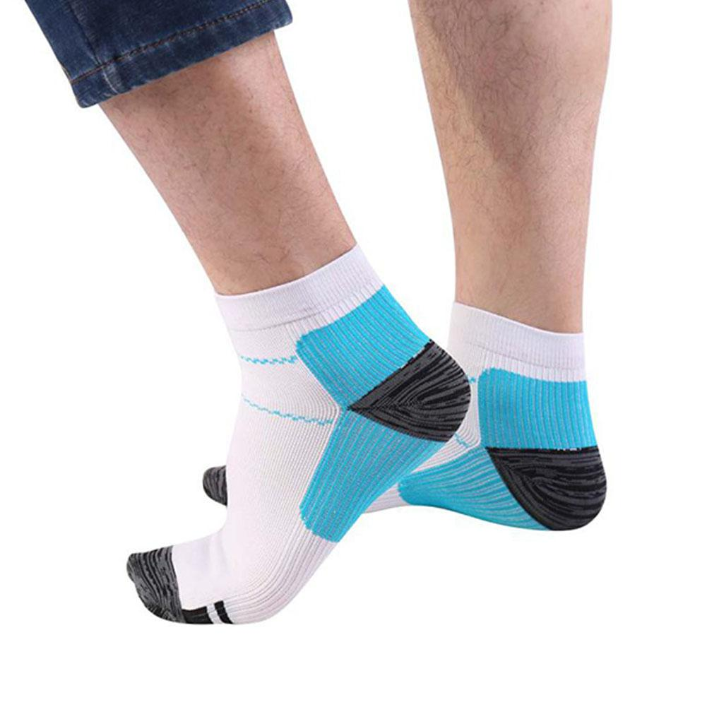 HobbyLane 1 Pair Unisex Compression Foot Sock Sports Socks Anti-Fatigue Relieve Planter Fasciitis Heel Spurs Pain