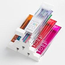 1 Tube japon Uni Nano Dia couleur 202NDC couleur crayon mécanique Graphite conduit 0.5/0.7mm écriture dessin bureau fournitures scolaires